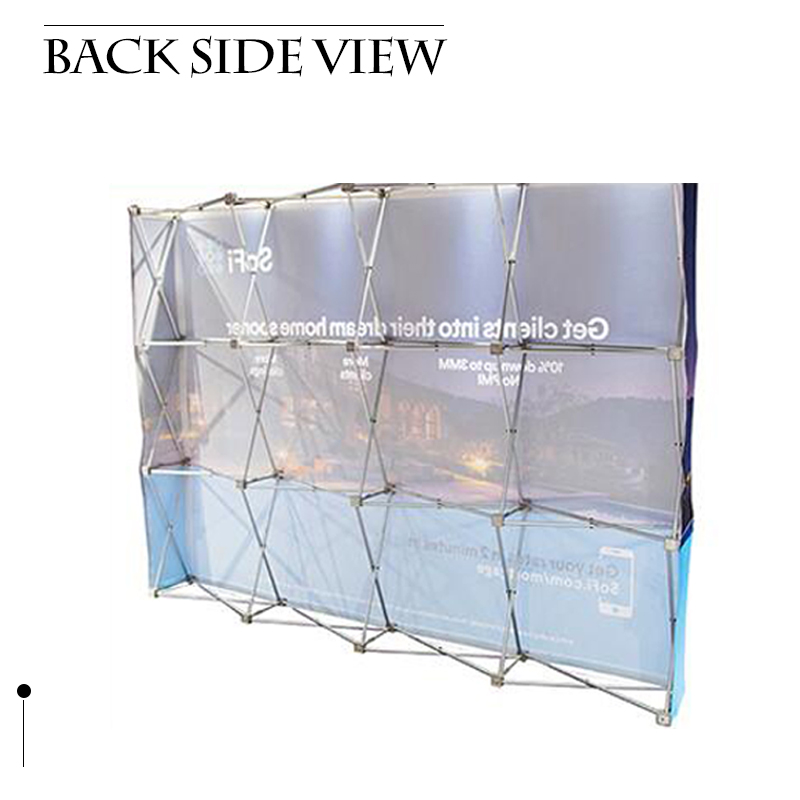 aluminum printed pop up display