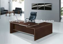 China modern office dark brown executive desk/pantai