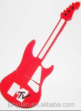 Silicone Guitar USB Flash Drive Gadget