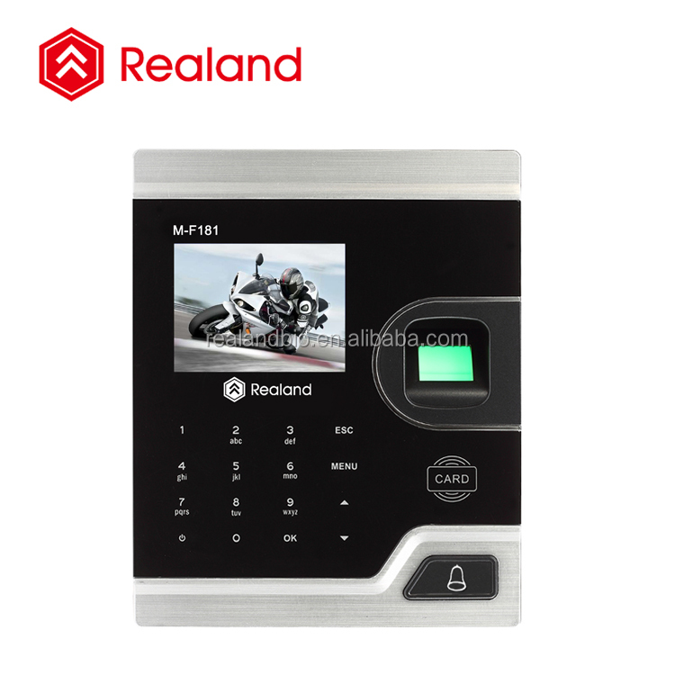 M-F181 Biometric Fingerprint access control & time clock with Password and RFID function