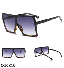 women men new latest model oversize big size square sunglasses 2018