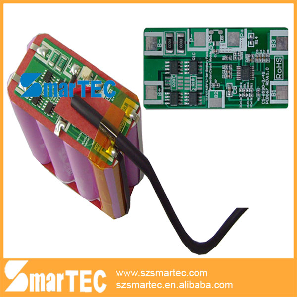 led light lithium ion battery pack 14.8V with PCM