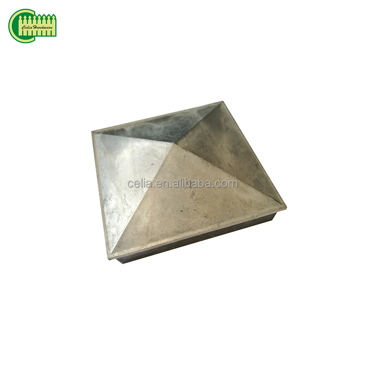 Copper Plated Aluminum Decorative Fence Post Cap 4x4 Caps Metal 6x6 Product On Alibaba