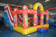 New Design bouncy castles, inflatable bouncer, jumping castles with art panels