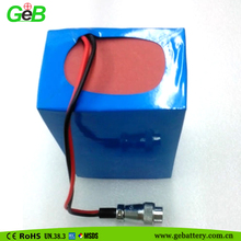 China lithium battery packs 12v 33Ah for Golf cart, lead acid battery