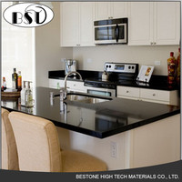 ISO SGS Certificate Solid Surface Slab Kitchen Bar Quartz Stone Dining Table Top