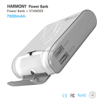 New product Harmony instead of holder portable charger power bank 7800mah