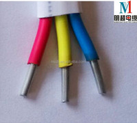aluminum conductor pvc insulated and sheathed flat wire electric wire
