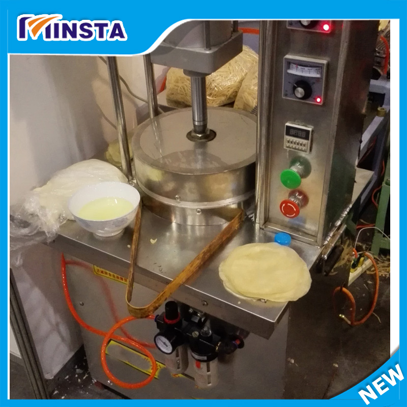 Non stick coating tortilla press tortilla making machine for Food bar press machine