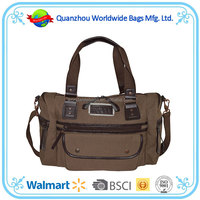 wholesale travel canvas bag shoulder cotton cavas tote bag