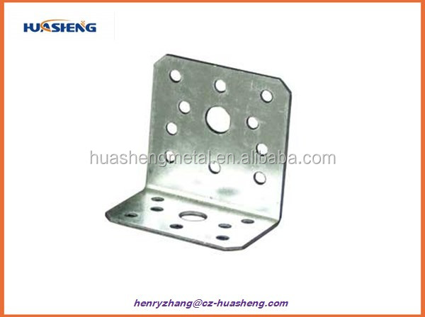 DX51D Z275 metal bracing wood connector for wood
