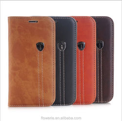 FL 3687 New arrival genuine leather phone case for iphone 6s ,for iphone 6s case leather, real leather for iphone 6s case