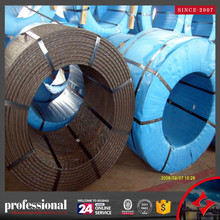 Hollow core steel cable/ wire rope / PC Strand grade 270