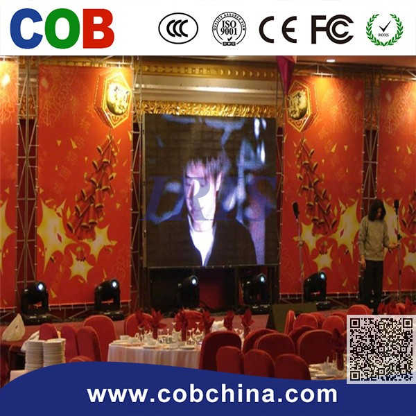 SMD Full Color HD high resolution P6 Indoor LED Stage Screen Rental LED Video Wall at Good Prices