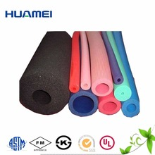 multi functional colorful plastic tube NBR foaming rubber tube