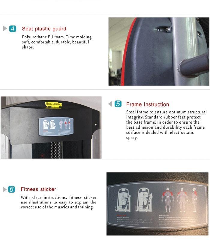 China import leg press BFT-3011 indoor machine fitness equipment wholesale