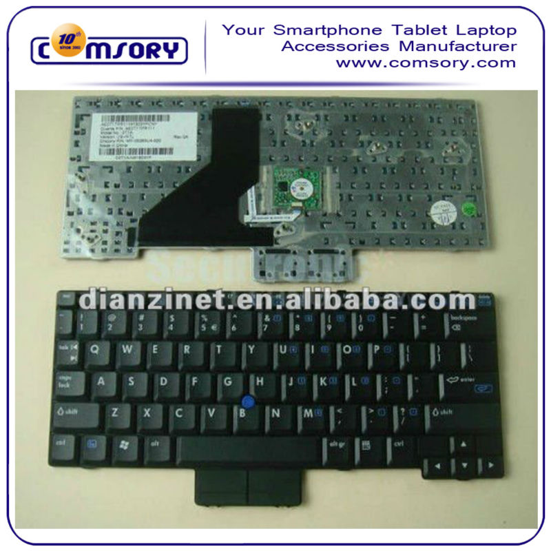 NEW ARRIVAL laptop keyboard for HP 2530P 2510P US version BLack color