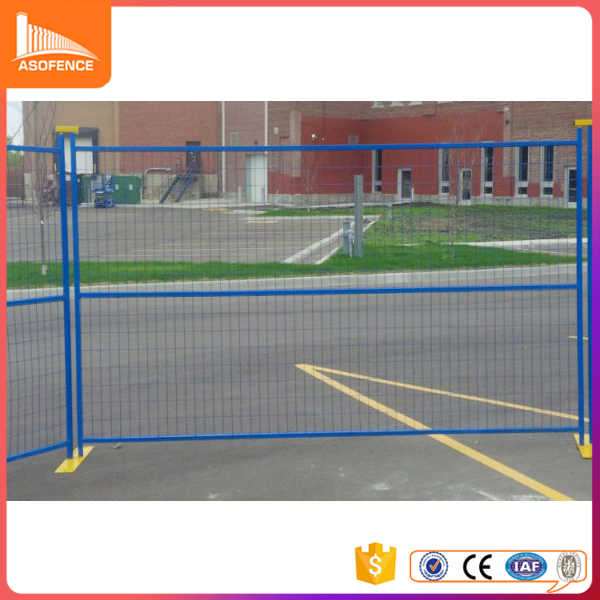 CA Temporary security fencing mobile temporary fence