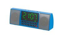 2016 new wireless portable USB/TF Alarm clock blutooth speaker with fm