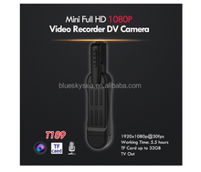 Full HD1080P Wifi Infrared Pen Camera Meeting Video Voice Recorder Mini DV with Clip