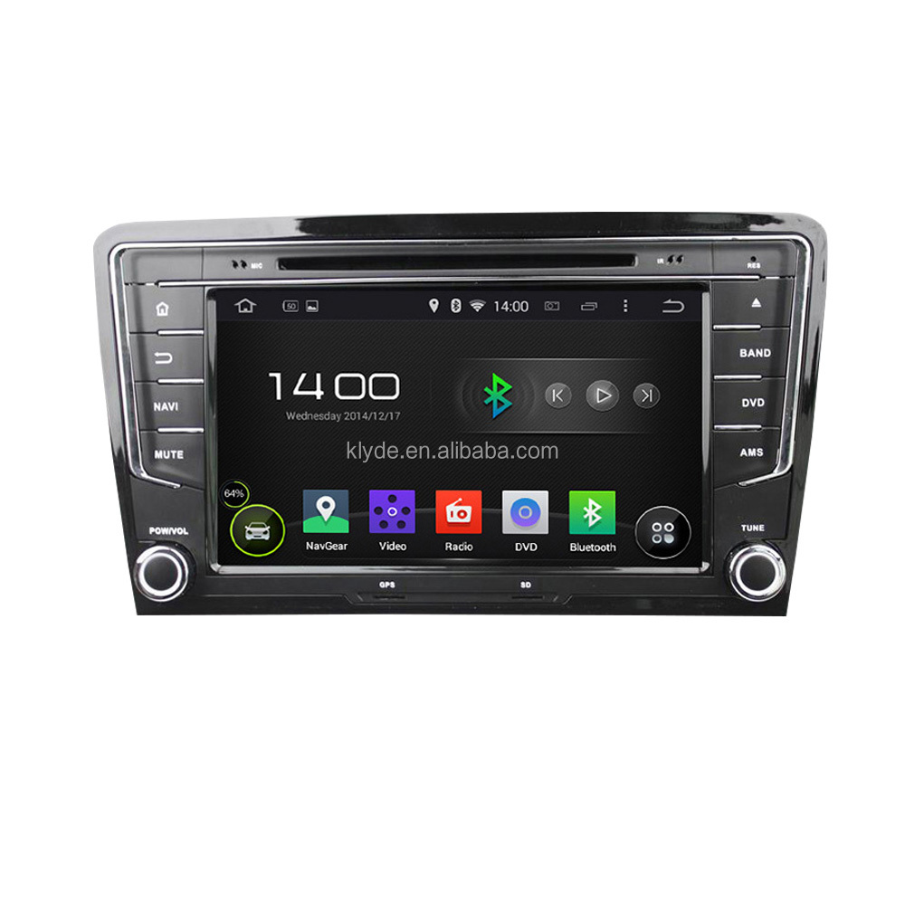 Klyde 2DIN Android car dvd player for VW Bora/Santana 2013- 2015