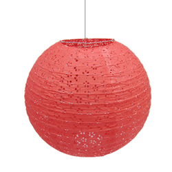 Upscale Hollow-out Water Falling Paper Round Paper Lanterns Lampshade Wedding Decoration