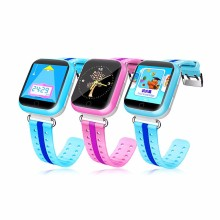 2016 Cheapest q100s 6 ways tracking Q750 kids GPS w4 q18 <strong>smart</strong> <strong>watch</strong> with 1.54 inch big touch screen, MTK2503