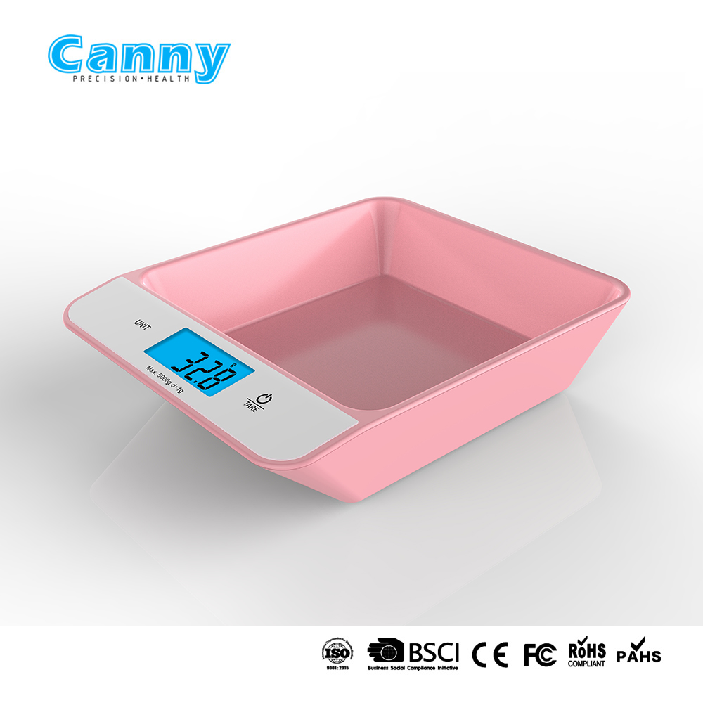 ABS kitchen scale with 5kg, 10kg capacity, food scale