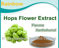 balloon flower root extract powder Plastic xanthohumol 98% hops extract