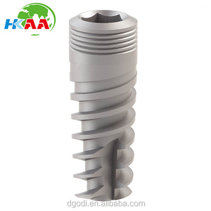 Dental Implant Titanium Spiral Straight Implant