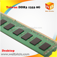 Taiwan hot selling Memory Desktop 512x8 16c ddr3 1333 8gb ddr3 ram