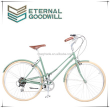 2015New model vintage bike bicycle fashion antique bikes vintage bike aluminum women road bike/city bicycle/the bikes GB3061