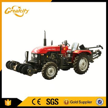 High performance four wheel farm tractor