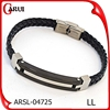 best selling products stainless steel clasp bio magnetic bracelet man leather bracelets