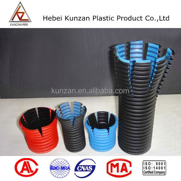 high quality storm and sewer pipe hdpe corrugate pipe