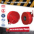 mild steel 20m manual type firehose reel
