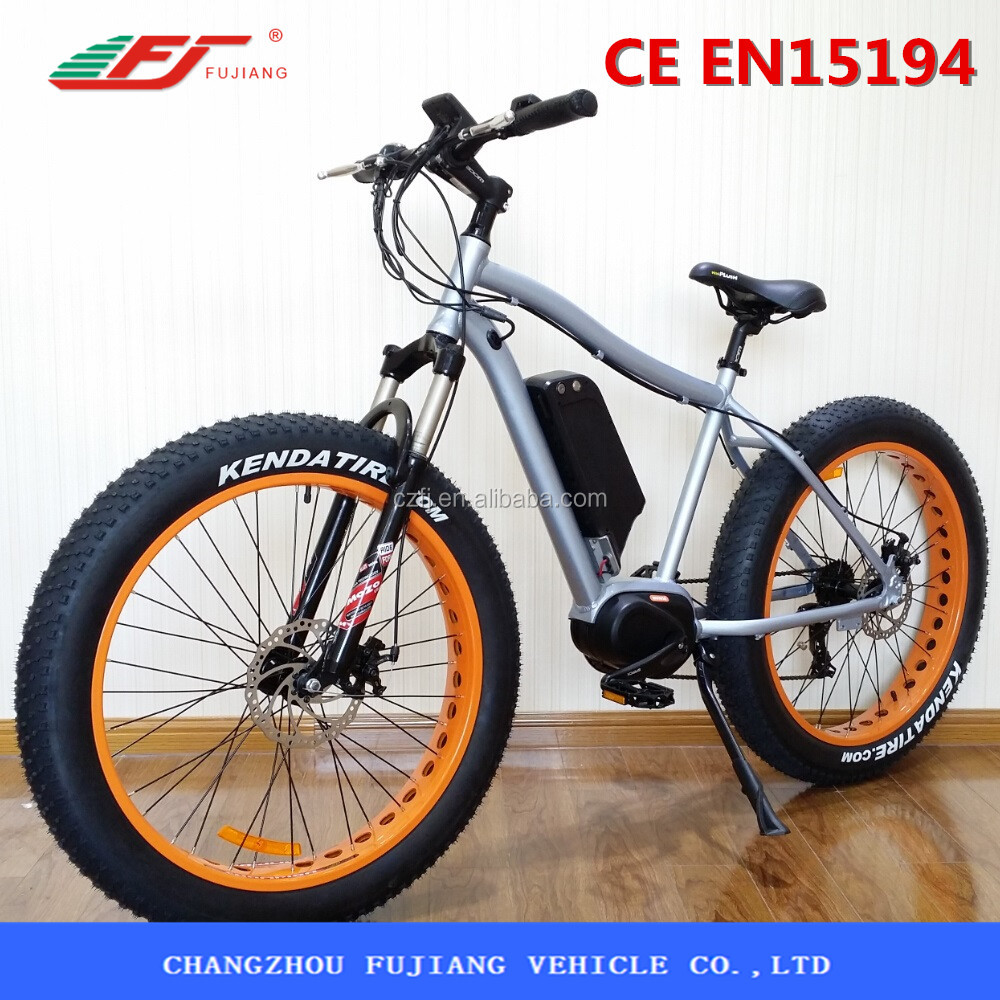 FUJIANG electric bike, electric bike motor mid drive, electric motor for bike with EN15194