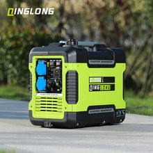 italy japan new used electric 2kw 12v dc 220v ac motor high low rpm portable inverter generator