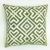 Geometric Style Knitting Embroidery Cushion