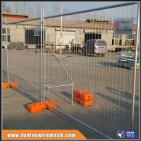 ISO9001 Australia standard factory galvanized temporary metal fence, removable temporary construction fence,portable fence panel
