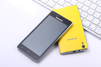 Orange Color Original 5.0 inch Lenovo K3 Smartphone Quad Core 1GB RAM 16GB ROM Android4.4 8MP Camera Mobile phone