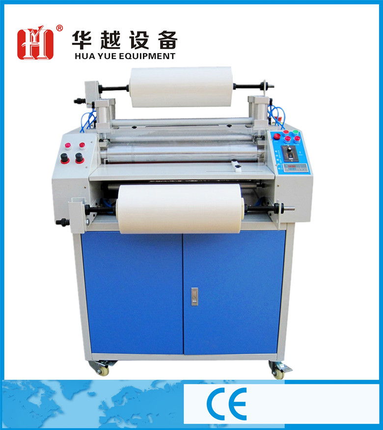 double side glossy film automatic thermal laminating machine