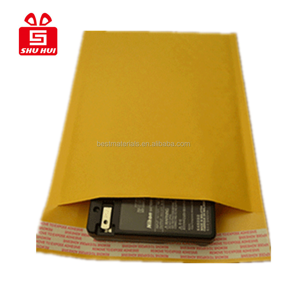 Kraft Bubble Mailers/eco lite kraft padded mailers/envelopes/ rigid