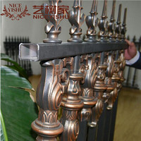 Aluminum Decorative fence /Aluminum out door fence for garden or house
