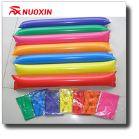 Flag Design Fans Inflatable Noisemaker Sticks