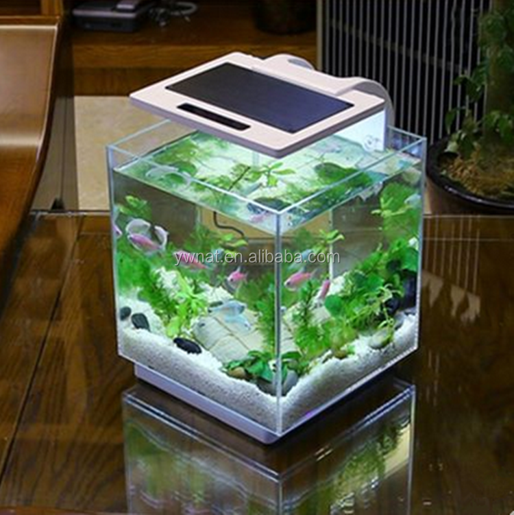 Smart verre fish tank aquarium r servoirs de poissons for Smart fish tank