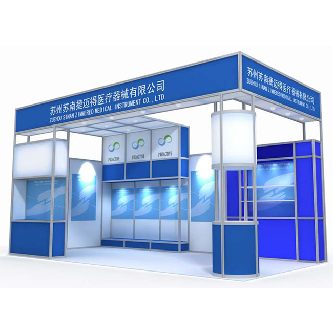 10 Years Aluminum Exhibition Booth Design Services