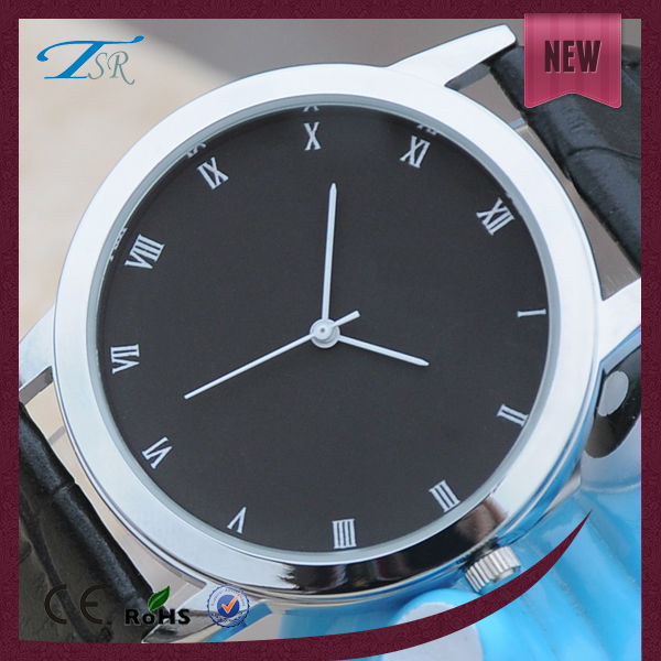 Classic quartz watch sr626sw battery fashion mens leather watches warranty 1 year