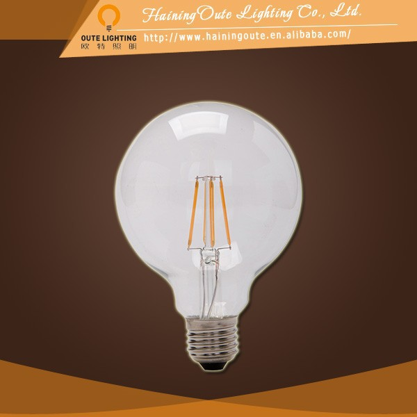 Chandelier crystal modern e27 led filament bulb 4w made in china