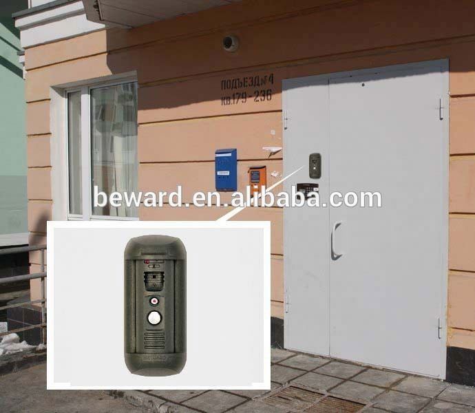 hot selling IP system video intercom for 4 apartments